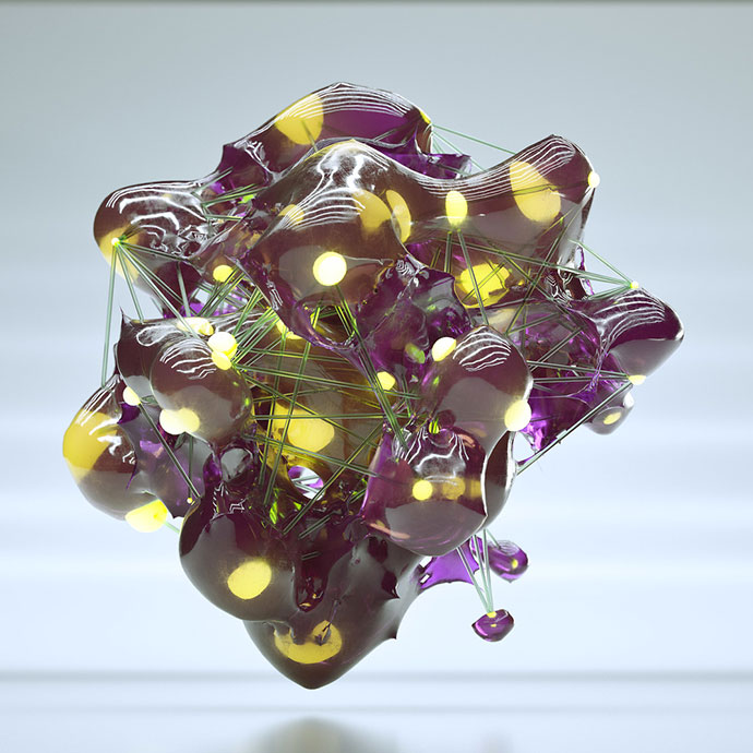 Abstract 3D experiment by Joey Camacho