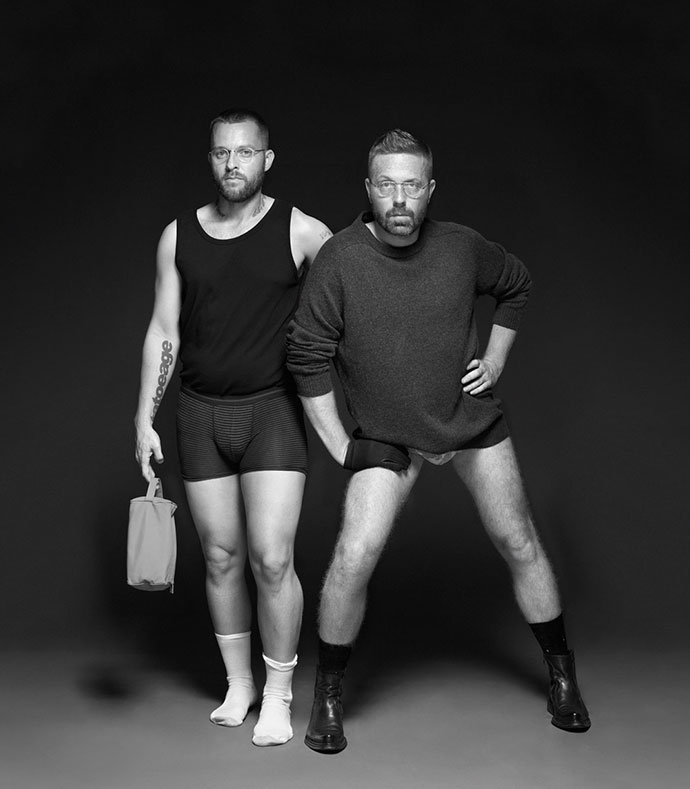 Funny and elegant art direction by Lernert and Sander