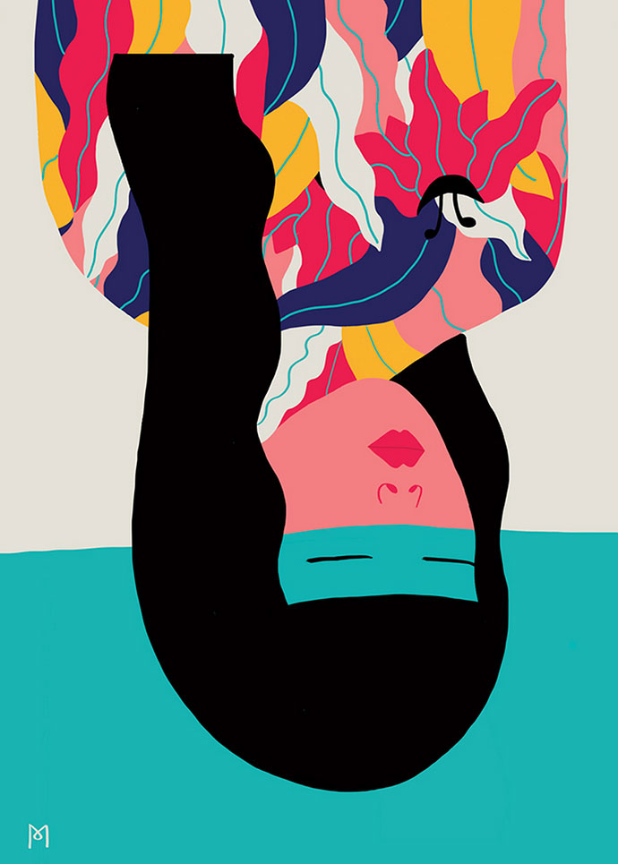 Graphic illustrations by artist Michela Picchi