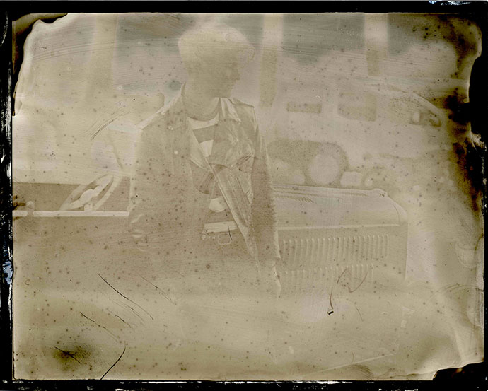 Collodion photography By Susan McLaughlin and Paul d'Orléans