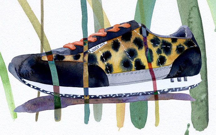 Very detailed watercolor illustrations by Marcel George