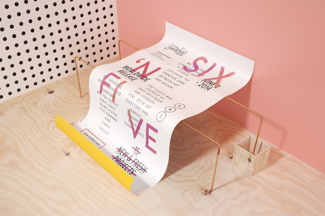 3D poetic and creative compositions by Six & Five
