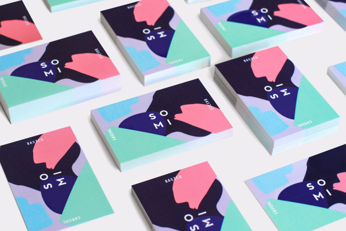 Art direction and identity by designer Julia Kostreva