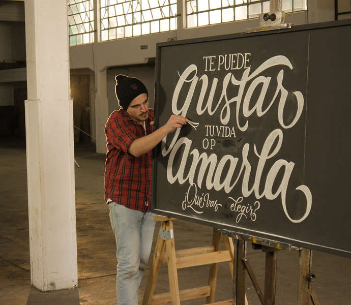 Lettering at Barley Brewery by Panco Sassano