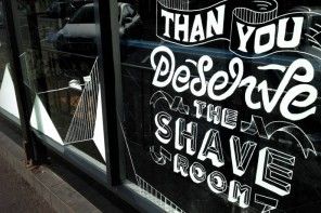 Lettering by multi-disciplined designer Craig Black