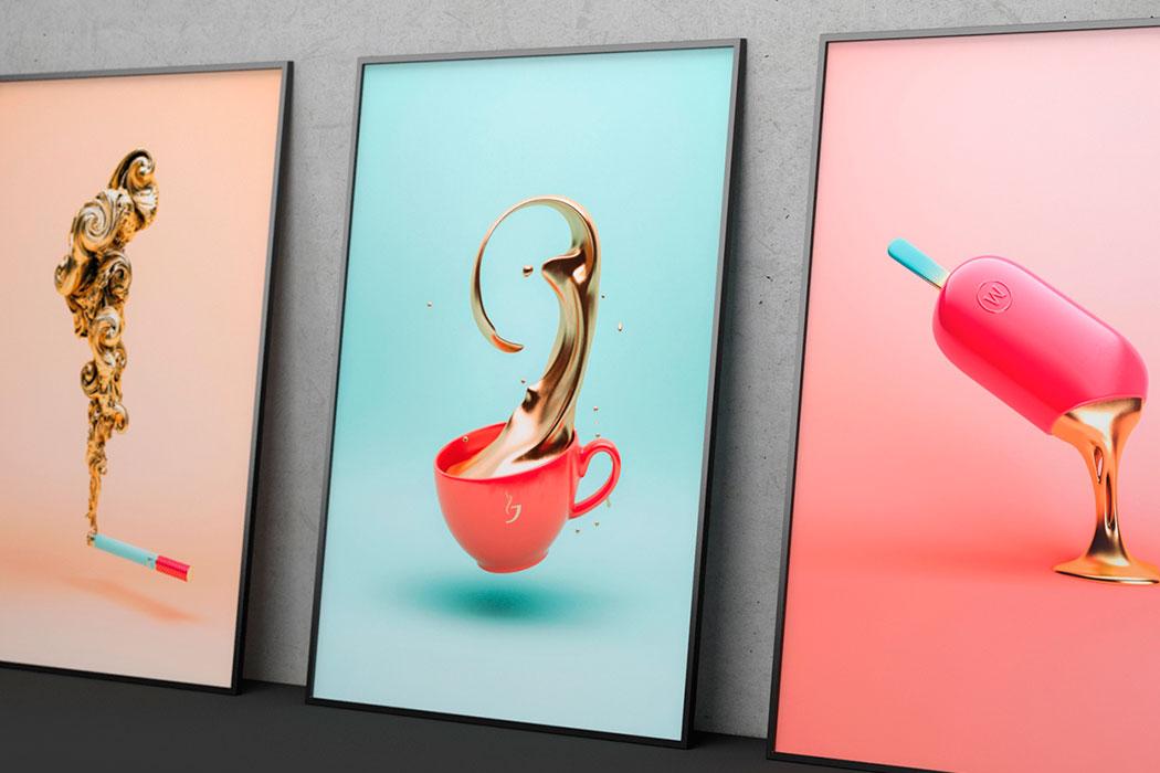 New works from designer and 3D artist Črtomir Just