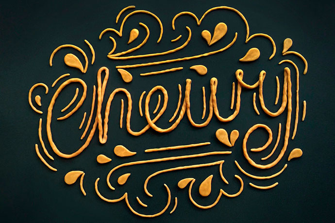 Lettering and handcrafted words by Becca Clason