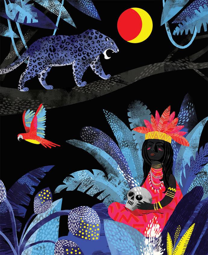 Illustrations and art prints by Essi Kimpimäki