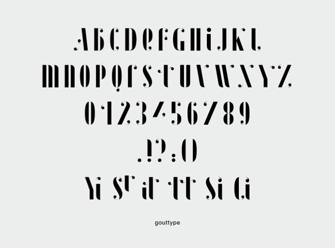 Graphisme et typographie par Ségolène Carron