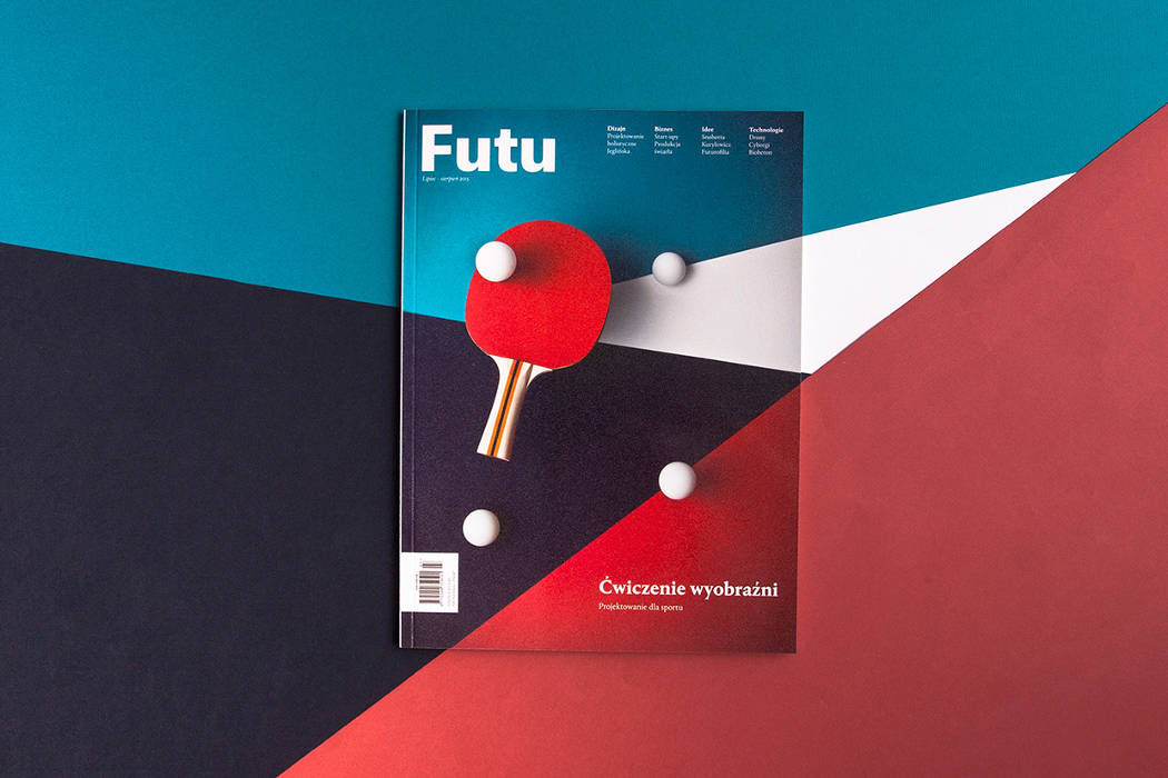 2015 most creative cover by designer Paul Marcinkowski
