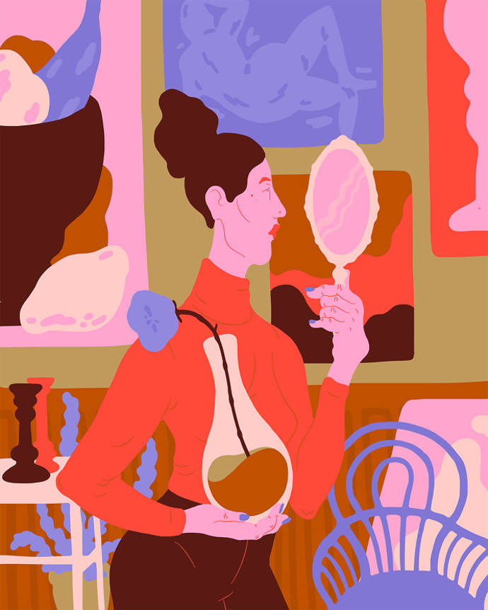 New colorful illustrations by Sara Andreasson