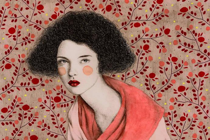 Original portraits of women by Sofia Bonati