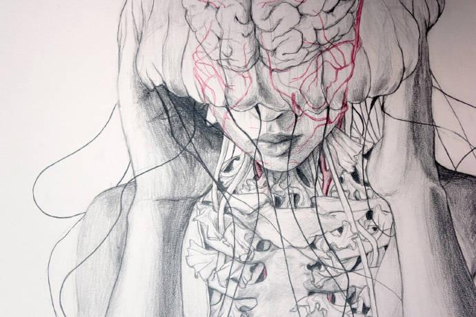 Les dessins de nymphes fantastiques d'Elisa Ancori