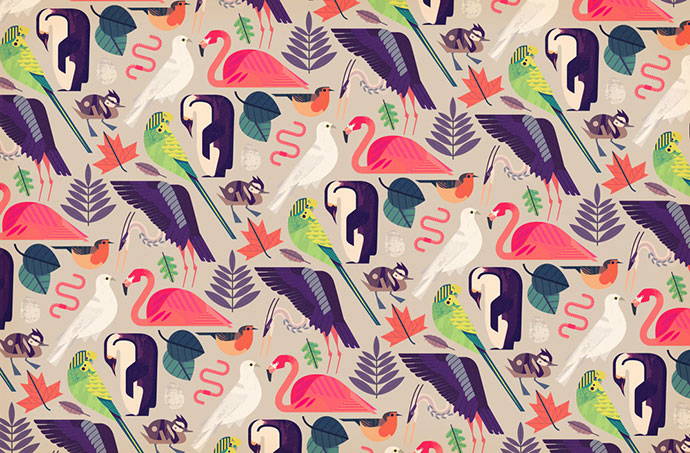 Colorful vector illustrations by Owen Davey