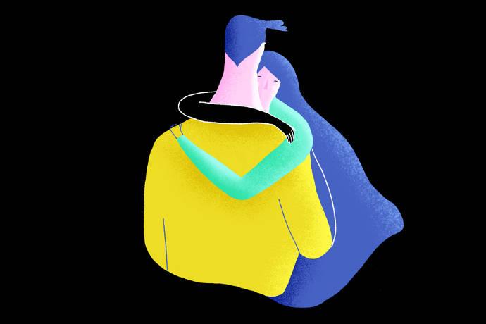 Les personnages de l'illustratrice Xoana Herrera