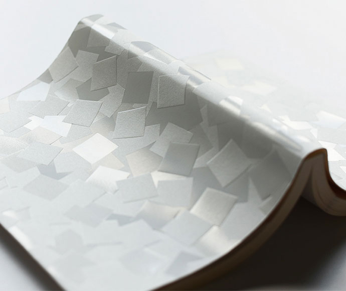 Subtle paper art and design by Haruka Misawa