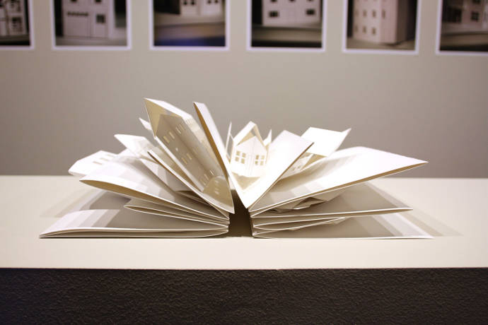 Paper art and other experiments by Nicki Crock