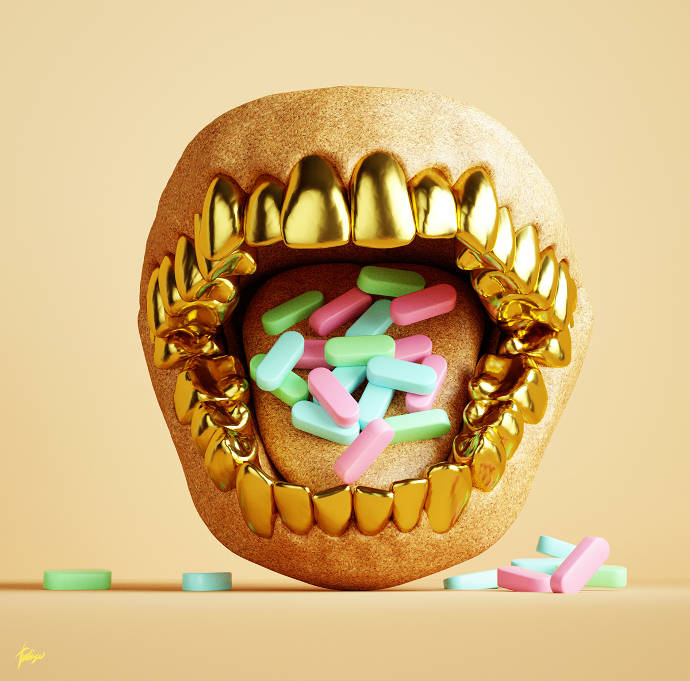 3D illustrations and portraits by Antoni Tudisco