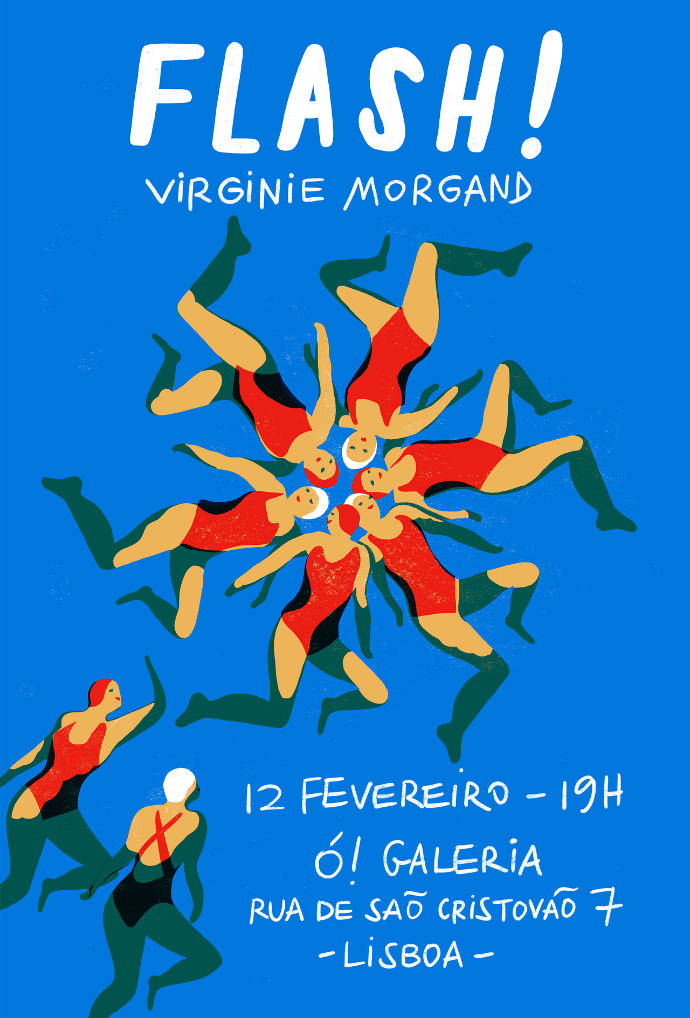 Hand drawn and vibrant illustrations by Virginie Morgand