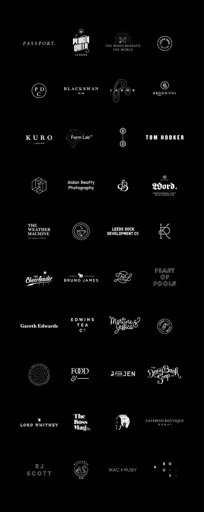 Carefully crafted identities and design by Passport
