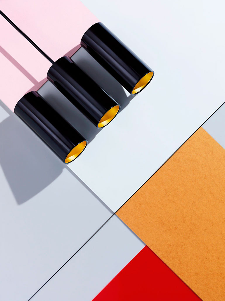 Geometric photo compositions by Carl Kleiner