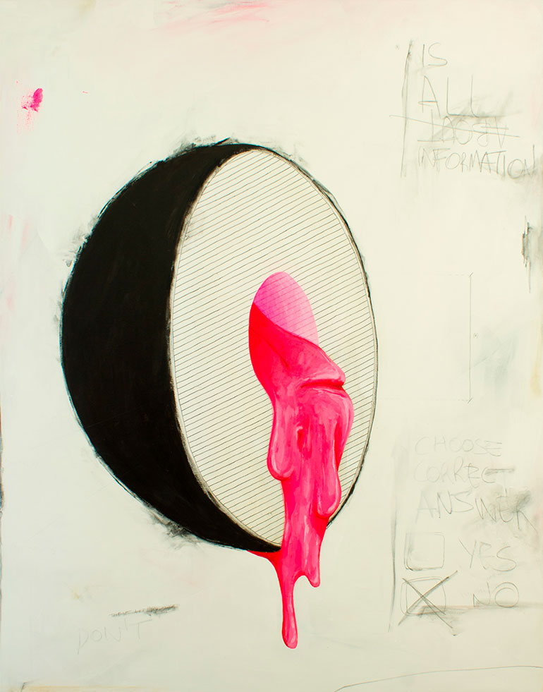 Paintings and installations by Oscar Delmar