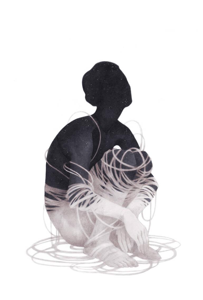 Organic shapes and line–work by Ashley Mackenzie