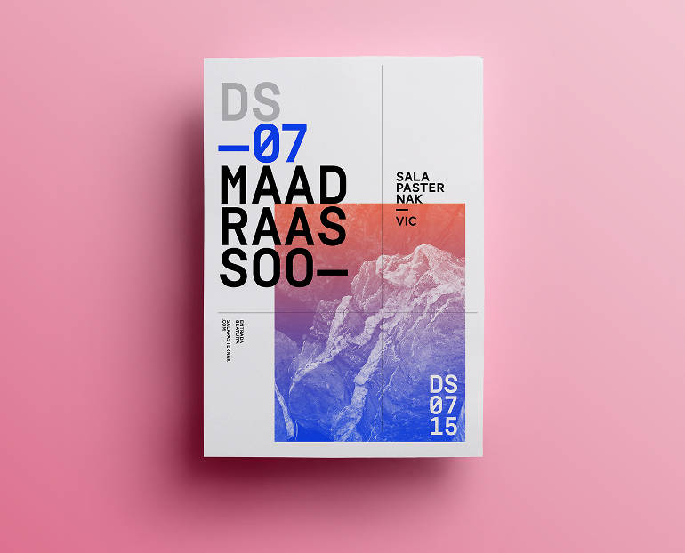 Clean graphic design by Quim Marin
