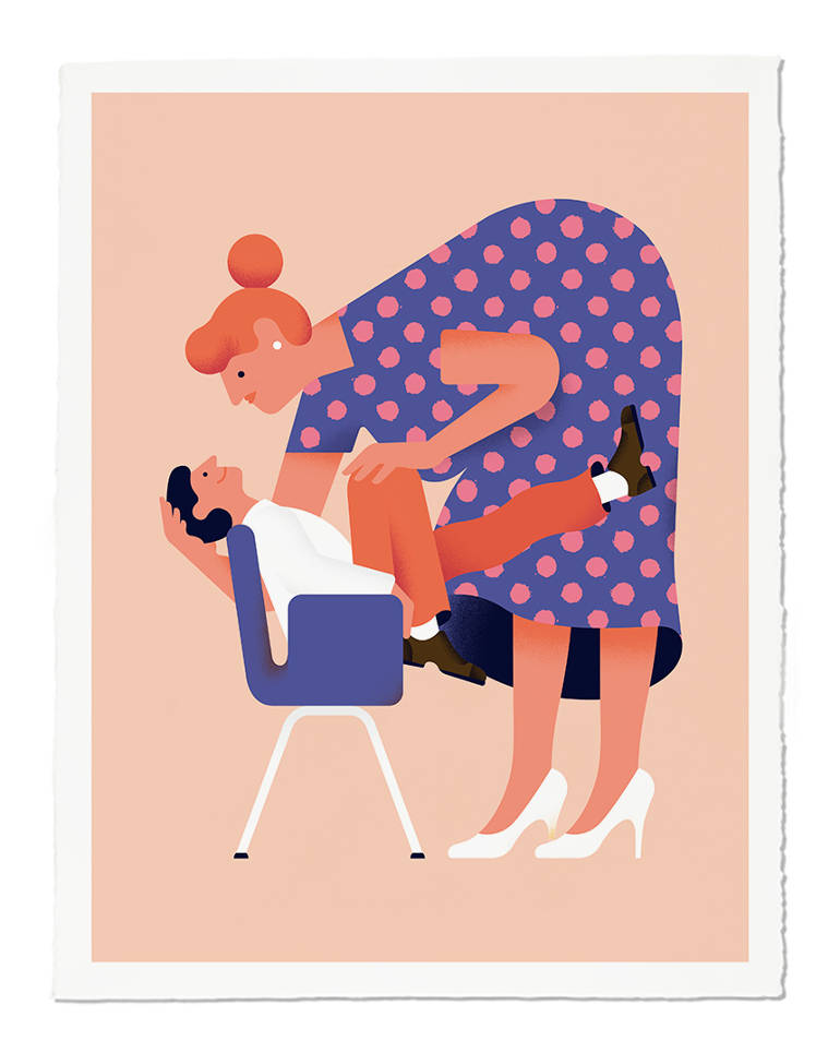 Minimalist illustrations by Giacomo Bagnara