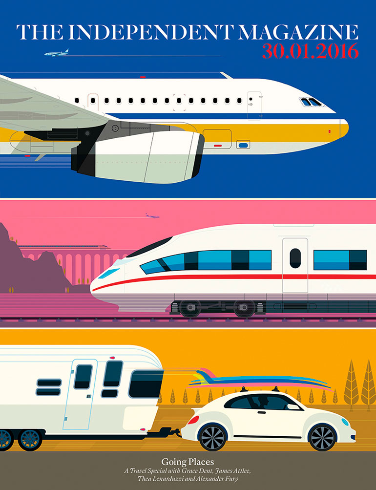 Great vector illustrations by Peter Greenwood