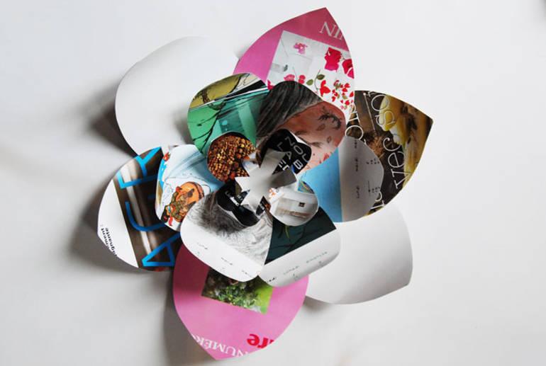 Delicate paper art by Laure Devenelle
