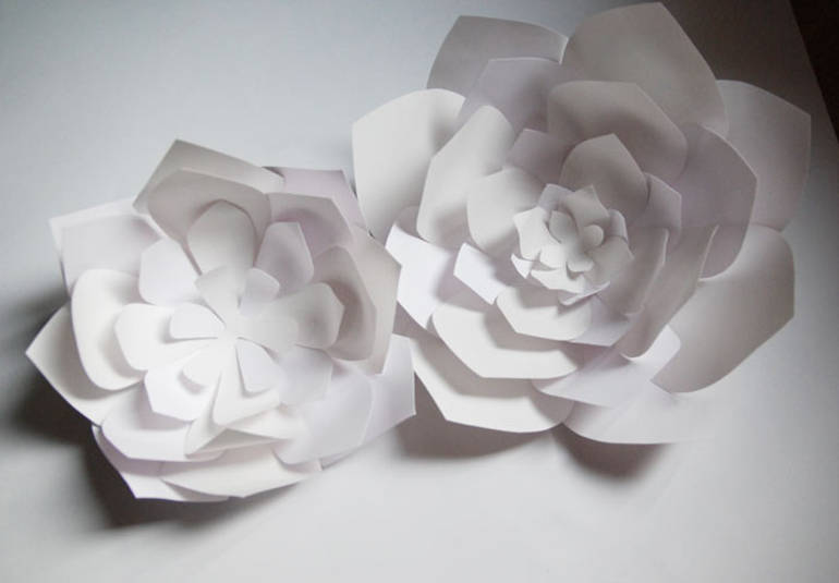 Delicate paper art by Laure Devenelle