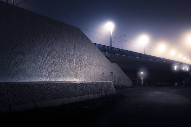 Landcapes at night by Andreas Levers