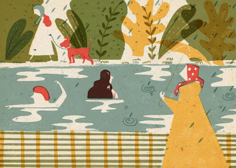 Playful illustrations by Barbara Dziadosz