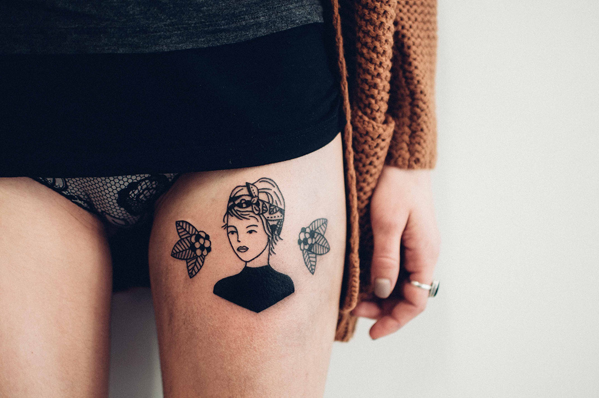 Illustrations and tatoos by Johanna Olk