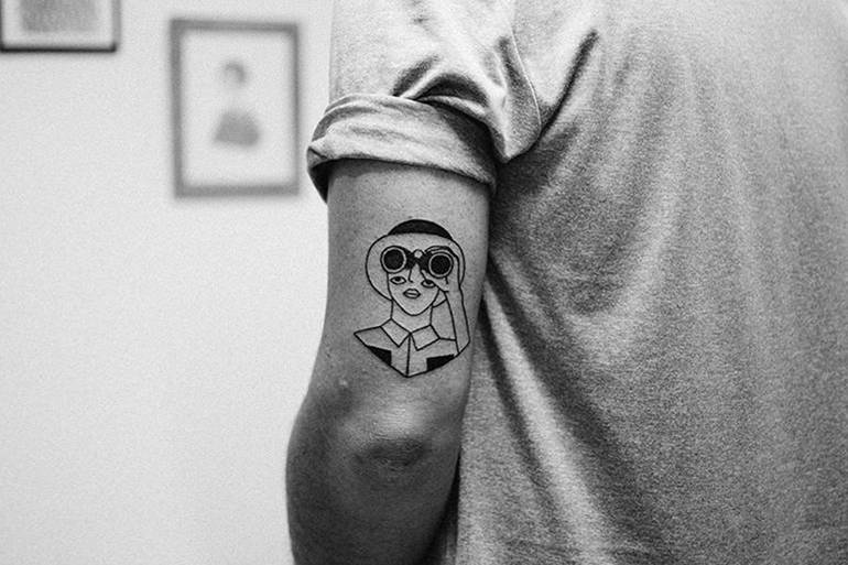 Illustrations et tatouages par Johanna Olk