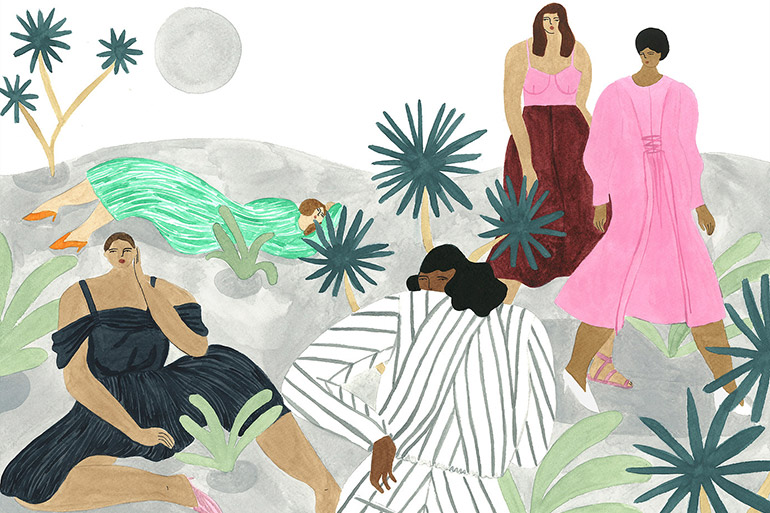 Les illustrations de mode originales d'Isabelle Feliu