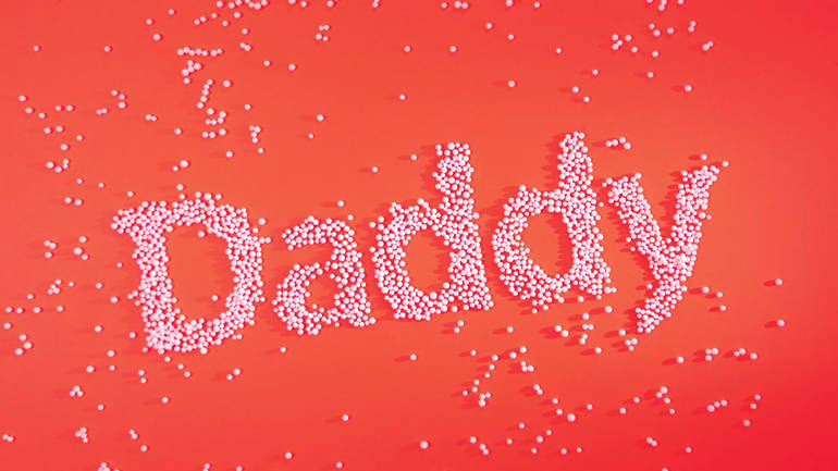 Daddy's commercial, art direction Claire Gautier