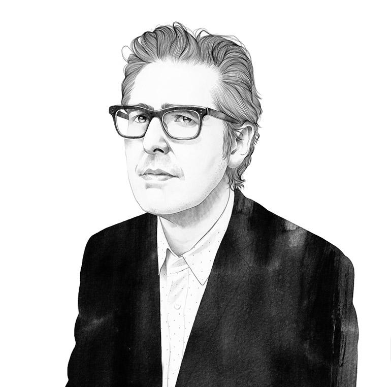 Portraits drawn by Mercedes deBellard