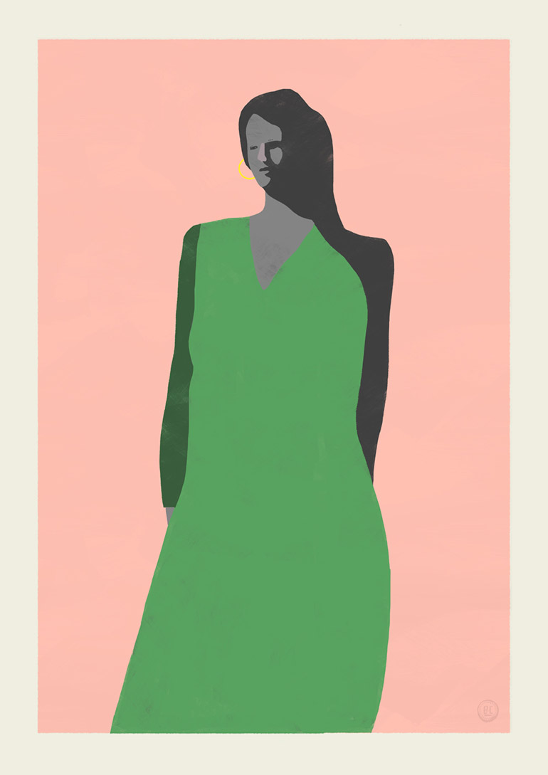 Beautiful stylish illustrations by Billy Clark