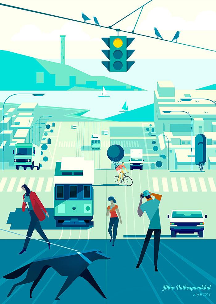 Digital paintings by Jithin Puthenpurakkal