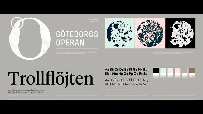 GoteborgsOperan's new visual identity