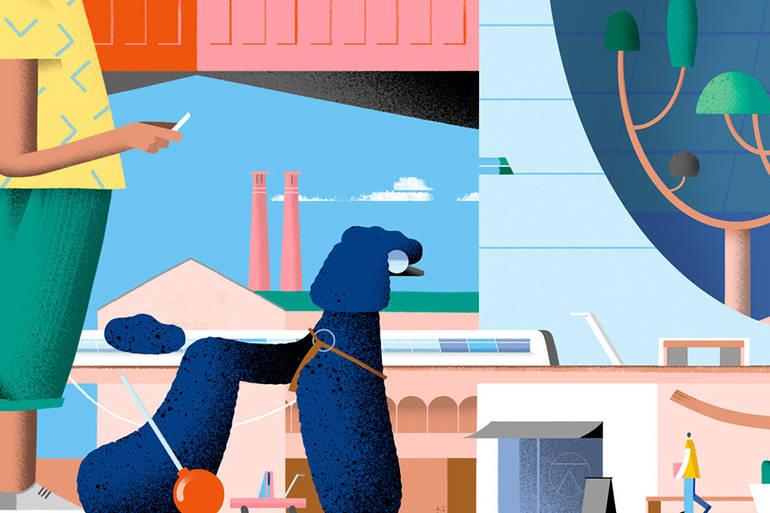Les illustrations ludiques de Leandro Alzate