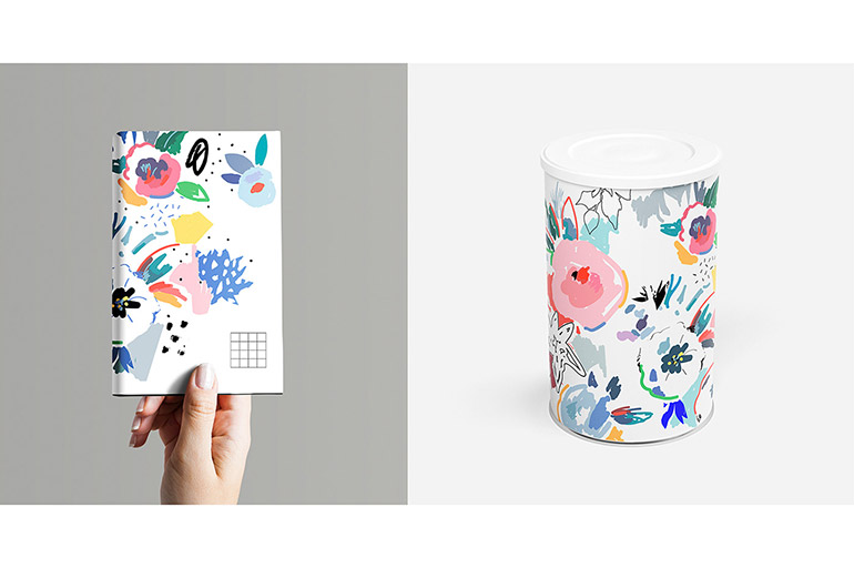 Floral and pattern design by Lera Efremova