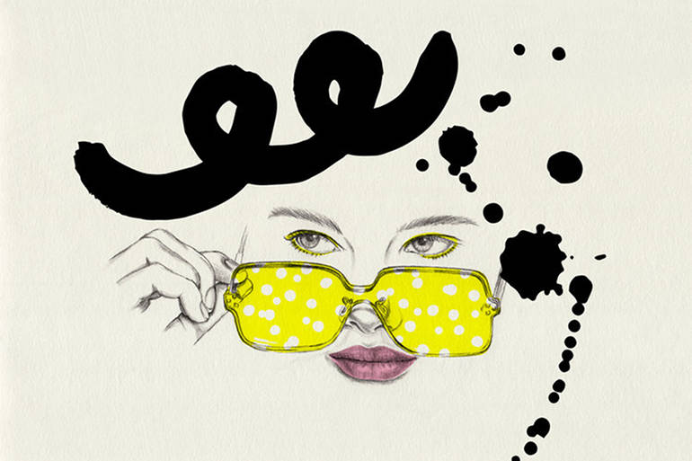 Illustrations de mode et portraits par Chuchu Briquet