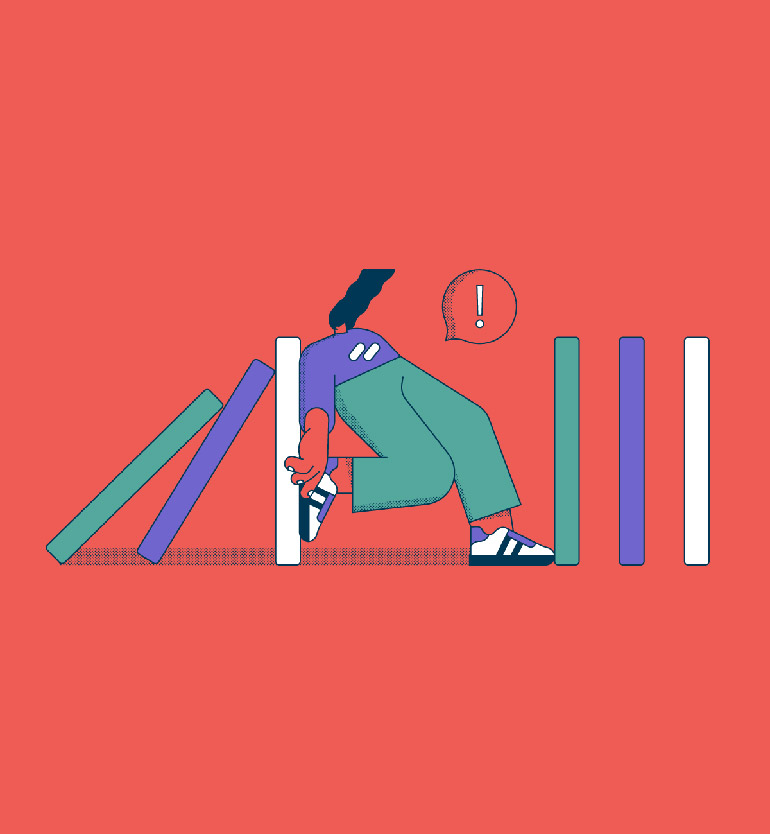 Minimalist illustrations by Ana Duje