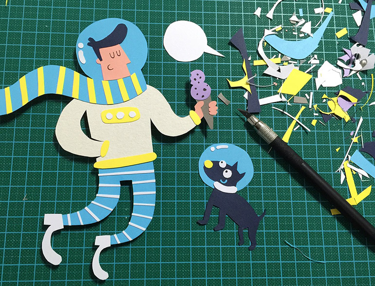 Playful illustrations by Monica Wang from UP!studio