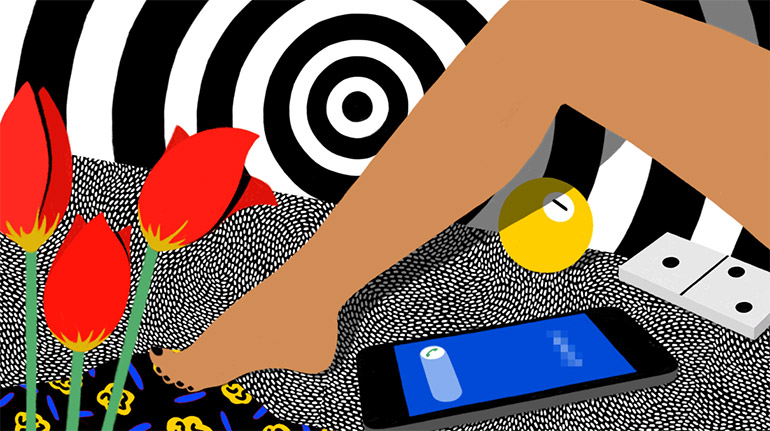 Pop art illustrations by Johanna Noack