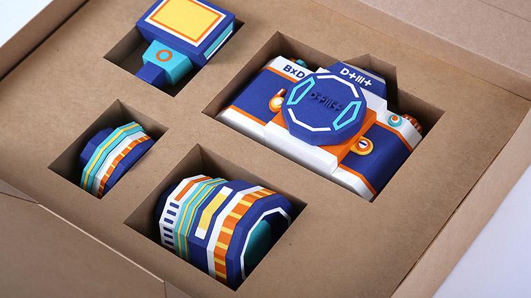 Paper Camera Kit Making by Dotmot