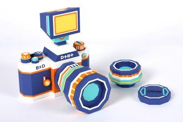 Paper Camera Kit Making by Dotmot